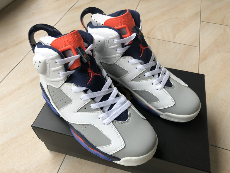 Cheap Wholesale Girls Air Jordan 6 Tinker 384664-104 White Infrared 23-Neutral Grey-Sail - www.wholesaleflyknit.com
