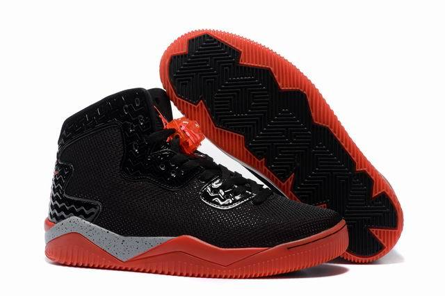 Wholesale Cheap Jordan Air Spike 40 Forty PE Bred Black Fire Red Cement Grey For Sale - www.wholesaleflyknit.com