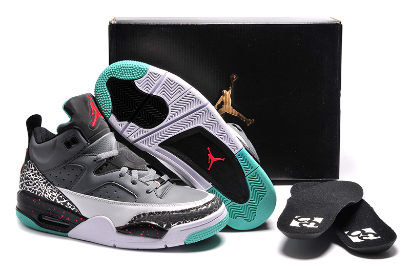 Wholesale Cheap Jordan Son of Mars Low Pro Stars Cool Grey Poison Green-Infrared 23 For Sale - www.wholesaleflyknit.com