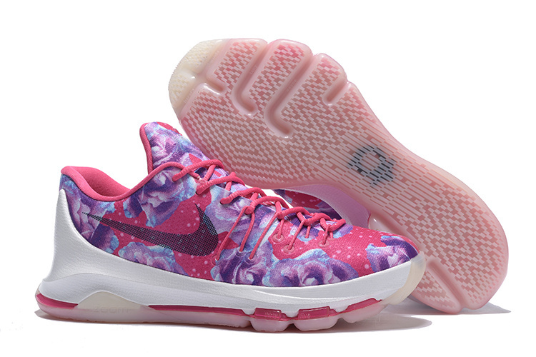 Wholesale Cheap KD 8 Aunt Pearl Vivid Pink Black-Phantom 2016 For Sale - www.wholesaleflyknit.com
