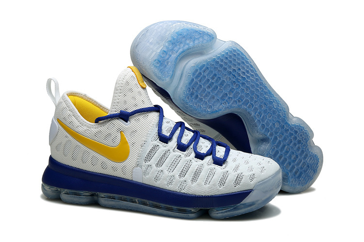 Wholesale Cheap KD 9 iD Golden State Warriors 2016 For Sale - www.wholesaleflyknit.com