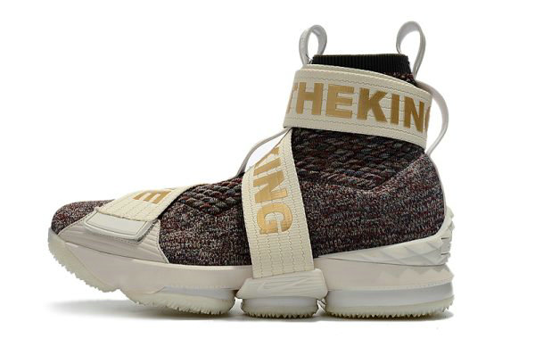 Cheap Wholesale KITH x Nike LeBron 15 Lifestyle Stained Glass Mens Basketball Shoes - www.wholesaleflyknit.com