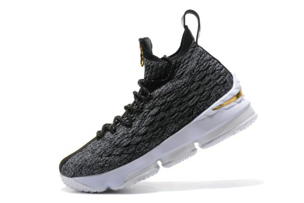 Cheap Wholesale KITH x Nike LeBron 15 SVSM Dark Green Gold-White Mens Basketball Shoes - www.wholesaleflyknit.com