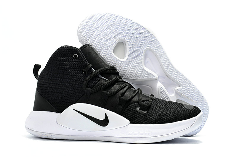Kids Nike Hyperdunk 2018  Both Black White - www.wholesaleflyknit.com