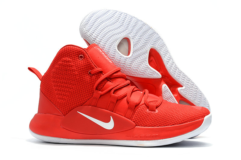 Kids Nike Hyperdunk 2018  Red White - www.wholesaleflyknit.com