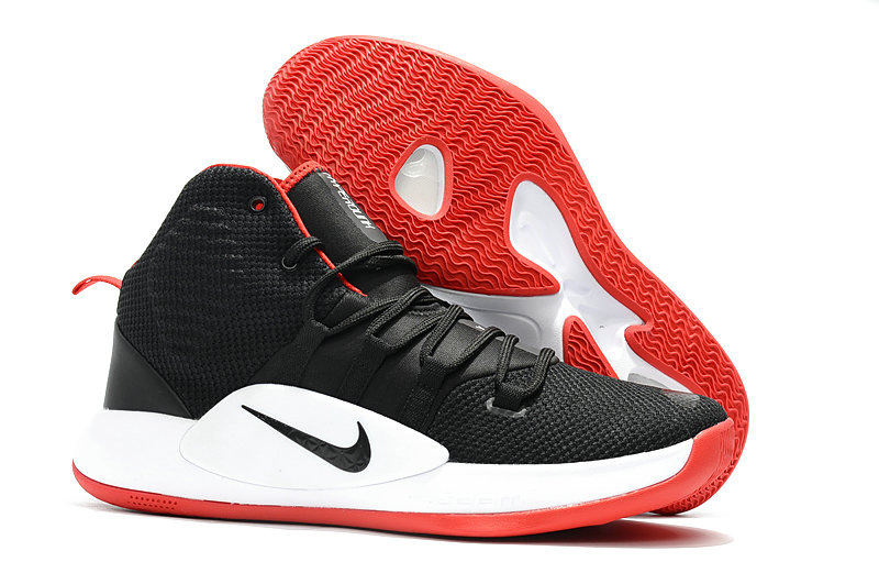 Kids Nike Hyperdunk 2018  White Red Black - www.wholesaleflyknit.com