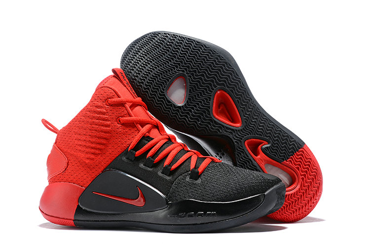 Kids Wholesale Nike Hyperdunk X Fire Red Black On www.wholesaleoffwhite.com