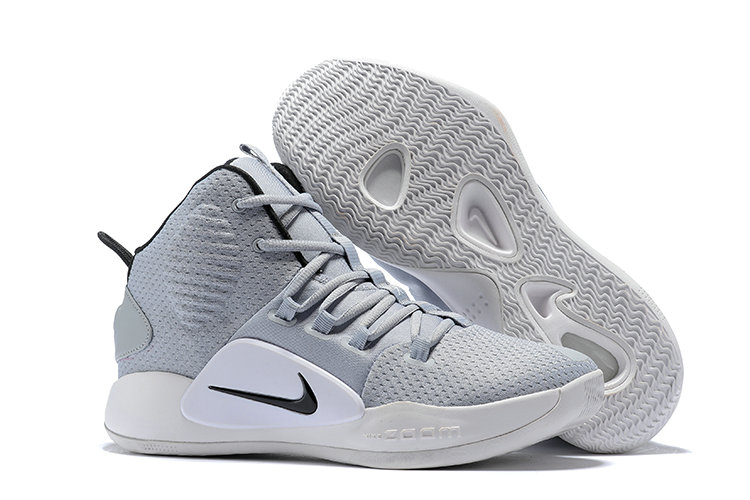 Kids Wholesale Nike Hyperdunk X Grey White Black On www.wholesaleoffwhite.com