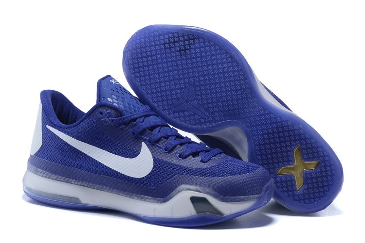 Wholesale Cheap Kobe 10 Royal Blue For Sale - www.wholesaleflyknit.com