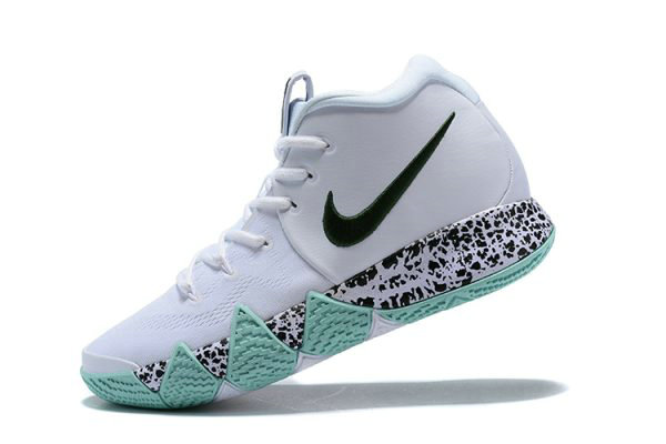 Cheap Wholesale Kyrie Irving Nike Kyrie 4 White Glow in the Dark Mens Basketball Shoes - www.wholesaleflyknit.com