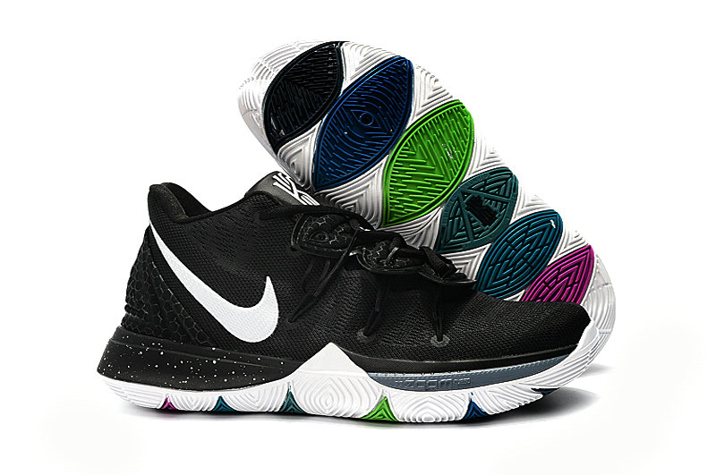Wholesale Kyrie Irvings For Womens Nike Kyrie 5 Black White-www.wholesaleflyknit.com