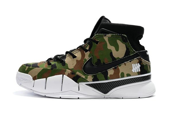 Cheap Wholesale Latest Undefeated x Nike Zoom Kobe 1 Protro Camo Mens Size For Sale - www.wholesaleflyknit.com