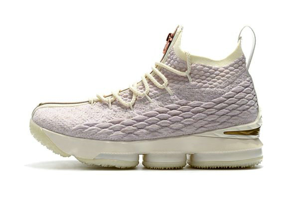 Cheap Wholesale Mens KITH x Nike LeBron 15 Rose Gold Long Live the King Basketball Shoes - www.wholesaleflyknit.com