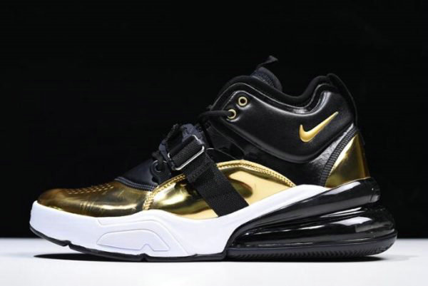 Cheap Wholesale Mens Nike Air Force 270 QS Gold Standard AT5752-700 On Sale - www.wholesaleflyknit.com