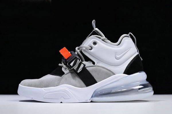 Cheap Wholesale Mens Nike Air Force 270 Wolf Grey Dark Grey AH6772-002 - www.wholesaleflyknit.com