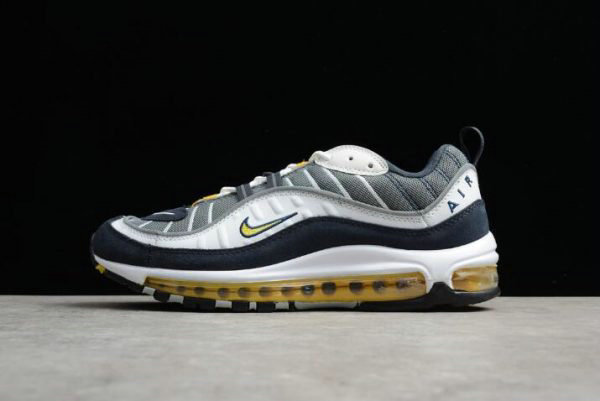 Cheap Wholesale Mens Nike Air Max 98 OG Tour Yellow 640744-105 - www.wholesaleflyknit.com