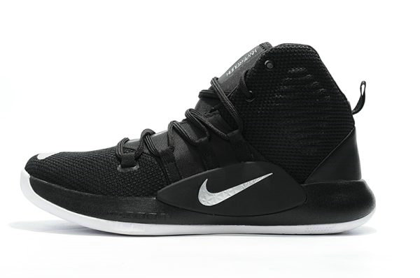 Cheap Wholesale Mens Nike Hyperdunk X 2018 Black Silver White Basketball Shoes - www.wholesaleflyknit.com
