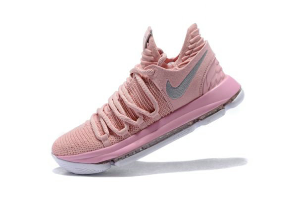 Cheap Wholesale Mens Nike KD 10 Aunt Pearl Pearl Pink White-Sail AQ4110-600 - www.wholesaleflyknit.com