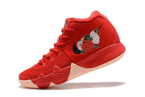 Cheap Wholesale Mens Nike Kyrie 4 CNY University Red Black-Team Red Basketball Shoes 943807-600 - www.wholesaleflyknit.com