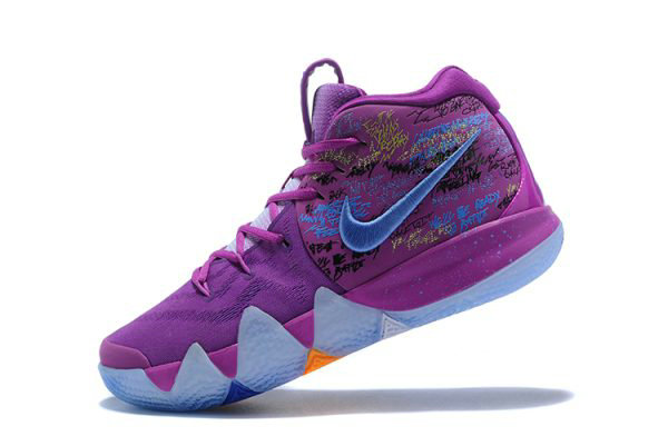 Cheap Wholesale Mens Nike Kyrie 4 Confetti Multi-Color Basketball Shoes 943806-900 - www.wholesaleflyknit.com