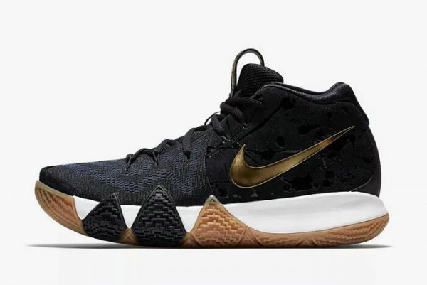 Cheap Wholesale Mens Nike Kyrie 4 Pitch Blue Metallic Gold Basketball Shoes 943807-403 - www.wholesaleflyknit.com