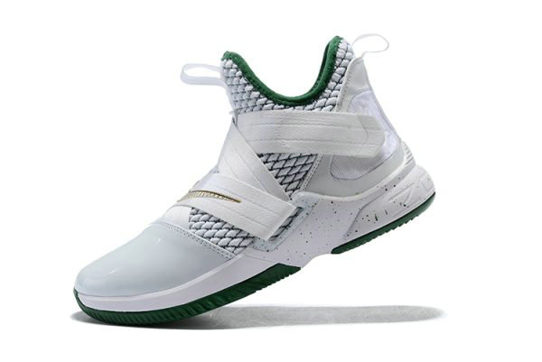 Cheap Wholesale Mens Nike LeBron Soldier 12 SVSM Home White Multi-Color AO2609-100 - www.wholesaleflyknit.com