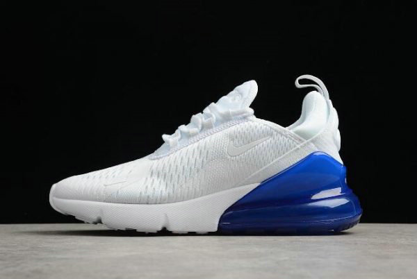 quality design d340b ee91c Cheap Wholesale Mens and WMNS Nike Air Max 270 White Photo Blue AH8050-105  For