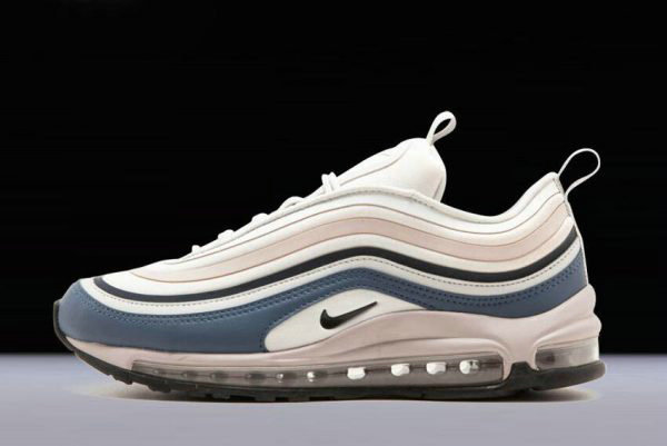 Cheap Wholesale Mens and WMNS Nike Air Max 97 Ultra Grey Obsidian Rose 917704-006 - www.wholesaleflyknit.com