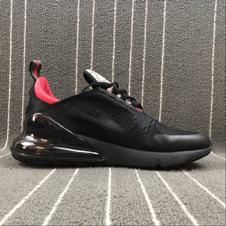 low priced 0127d 12577 Wholesale Nike AIR MAX 270 Flyknit AH8050-031 Black Red Noir Rouge On www.