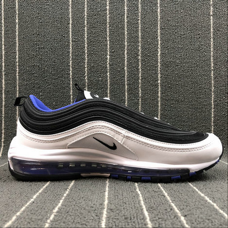 Wholesale Nike AIR MAX 97 921522-102 WHITE BLACK PERSIN VIOLET BLANC On www.wholesaleoffwhite.com