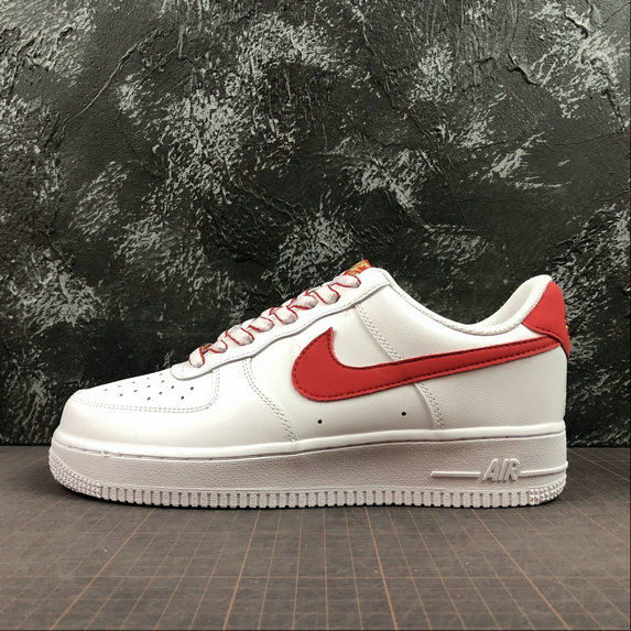 0769d481afe Wholesale NIKE Air Force 1 07 LV8 Ultra Mens 315122-169 White Red Gold Blanc