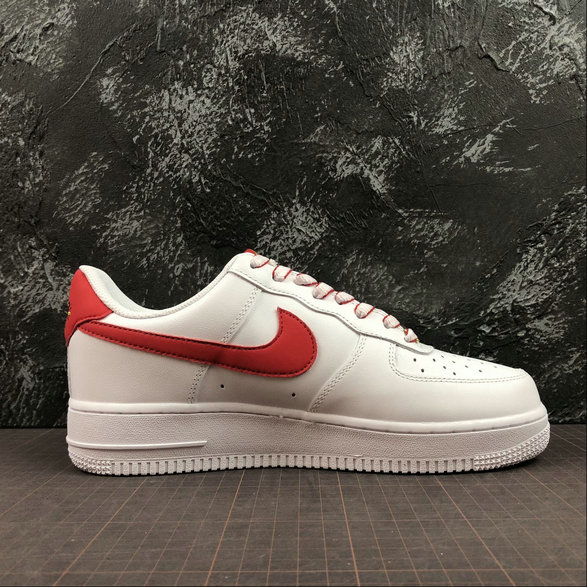 Wholesale NIKE Air Force 1 07 LV8 Ultra Womens 315122-169 White Red Gold Blanc Rouge Blond-www.wholesaleflyknit.com