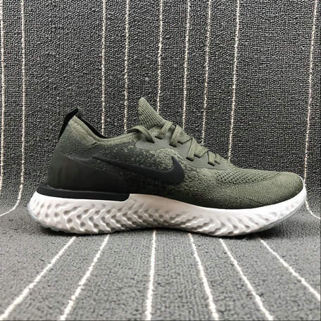 15048749bd0 Wholesale Nike EPIC REACT FLYKNIT AQ0067-300 CARGO KHAKI BLACK ...