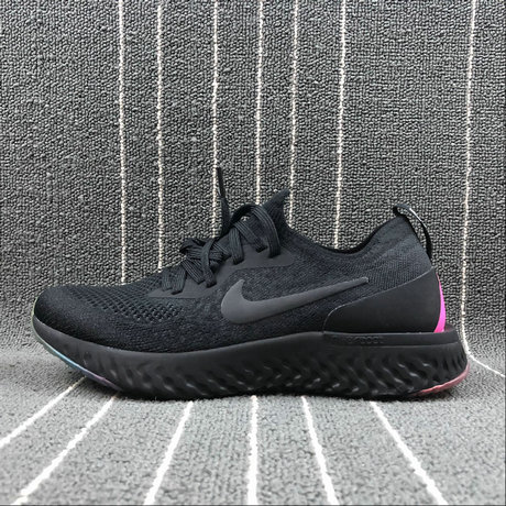 Wholesale Nike EPIC REACT FLYKNIT AR3772-001 BLACK PINK BLAST NOIR ROSE BLAST NOIR On www.wholesaleoffwhite.com