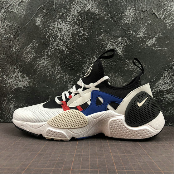 Wholesale NIKE HUARACHE E.D.G.E. TXT Mens Womens AO1697-001 Black Vast Grey Game Royal Noir Jeu Royal Gris Infin-www.wholesaleflyknit.com