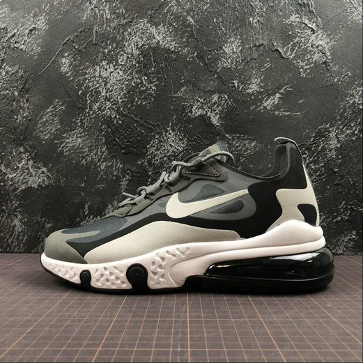 Cheap Wholesale NIKE REACT AIR MAX AQ9087-001 M.Grey L.grey Black M.Gris L.Gris Noir - www.wholesaleflyknit.com
