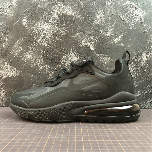 Cheap Wholesale NIKE REACT AIR MAX AQ9087-002 Black Noir - www.wholesaleflyknit.com