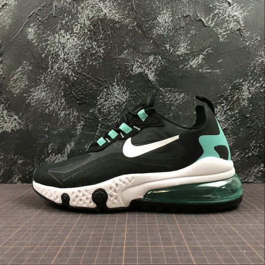 Cheap Wholesale NIKE REACT AIR MAX AQ9087-013 Black White Jade Noir Blanc Jade - www.wholesaleflyknit.com