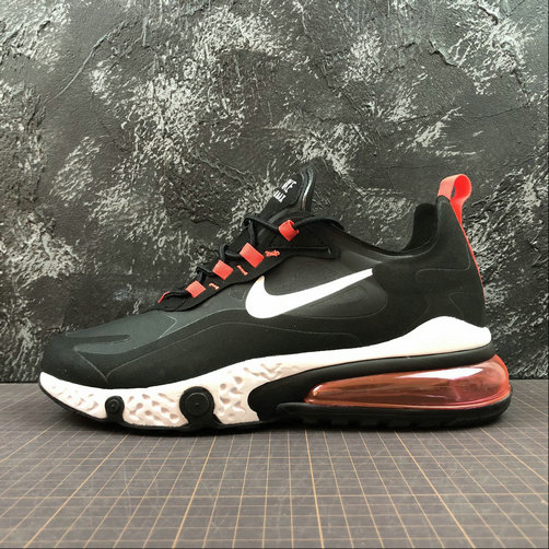 Cheap Wholesale NIKE REACT AIR MAX AQ9087-016 Black Red Noir L.Rouse - www.wholesaleflyknit.com
