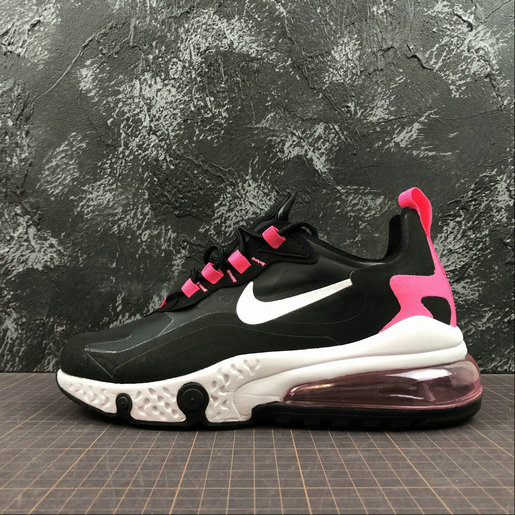 Cheap Wholesale NIKE REACT AIR MAX AQ9087-017 Black Peach Noir Peach - www.wholesaleflyknit.com
