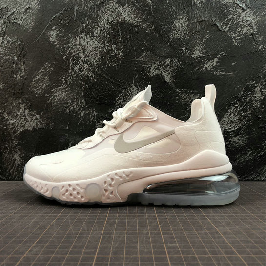 Cheap Wholesale NIKE REACT AIR MAX AQ9087-100 White Silver Blanc Argent - www.wholesaleflyknit.com