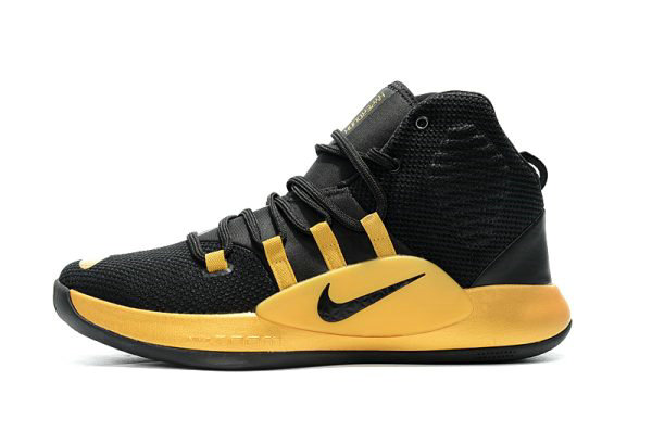 Cheap Wholesale New Nike Hyperdunk X Black Gold Mens Basketball Shoes - www.wholesaleflyknit.com