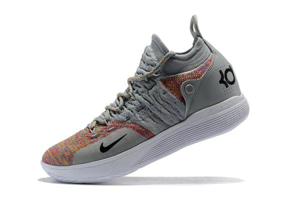 Cheap Wholesale New Nike KD 11 Cool Grey Multi-Color Mens Basketball Shoes - www.wholesaleflyknit.com