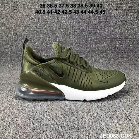 new style debbd 5d023 Nike Air 270 Cheap Wholesale Nike Air Max 270 Green Silver Black White -  www.
