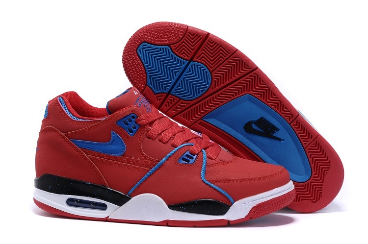 Wholesale Cheap Nike Air Flight 89 University Red Game Royal Sports Basketball Shoes For Sale - www.wholesaleflyknit.com