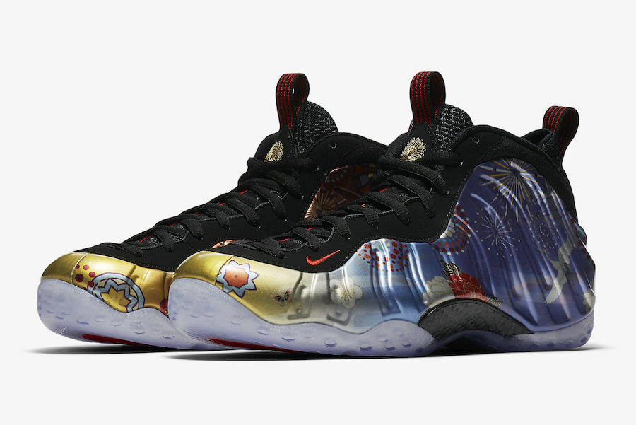 Wholesale Nike Air Foamposite One Lunar New Year-www.wholesaleflyknit.com