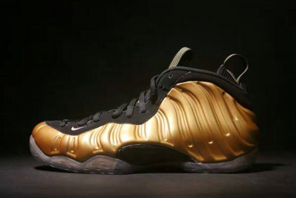Cheap Wholesale Nike Air Foamposite One Metallic Gold Metallic Gold Black 314996-700 - www.wholesaleflyknit.com