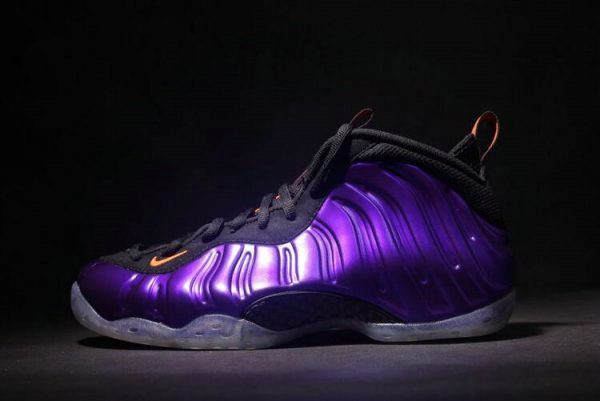 Cheap Wholesale Nike Air Foamposite One Phoenix Suns Electro Purple Total Orange-Black 314996-501 - www.wholesaleflyknit.com