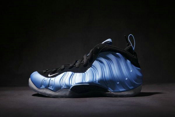 Cheap Wholesale Nike Air Foamposite One University Blue White-Black Basketball Shoes 314996-402 - www.wholesaleflyknit.com
