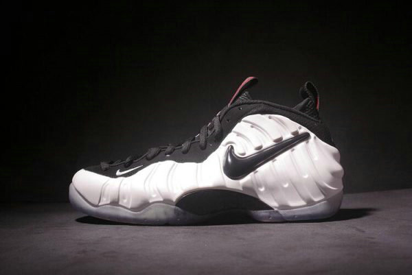 Cheap Wholesale Nike Air Foamposite Pro He Got Game Pearl White Black-True Red 624041-100 - www.wholesaleflyknit.com